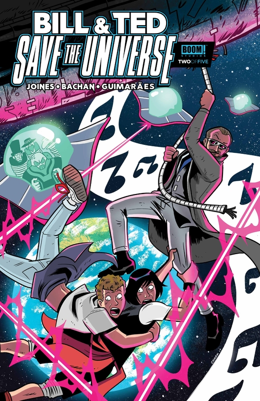 Bill & Ted Save the Universe #1-5 (2017) Complete
